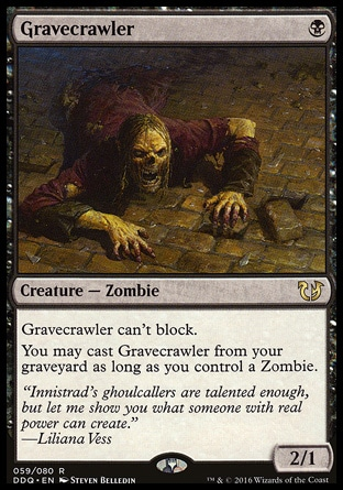 Ghoulcaller/'s Bell Foil Magic mtg Moderate Play English Innistrad x1