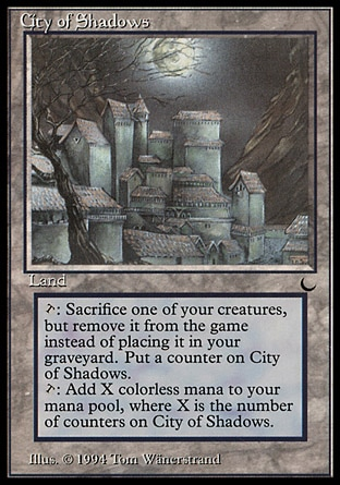 City of Shadows (英語)