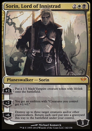 Sorin, Lord of Innistrad