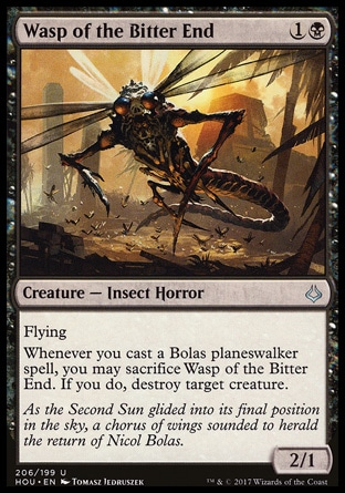 Wasp of the Bitter End