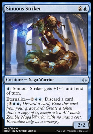 Sinuous Striker