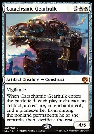 Gearhulks from best to worst for EDH? - Commander (EDH