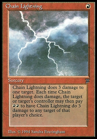 And, erm, lightning