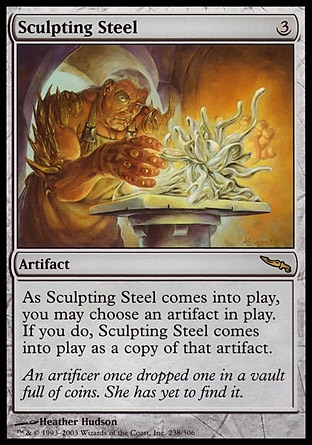 Sculpting Steel