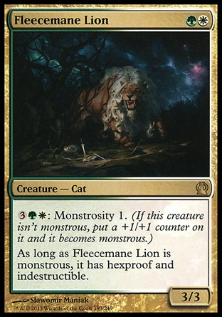 Fleecemane Lion
