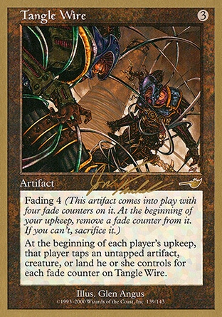 Magic The Gathering Tangle Wire Nemesis Used
