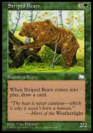 Striped Bears