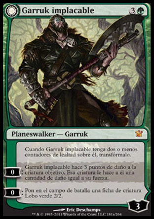 Garruk implacable