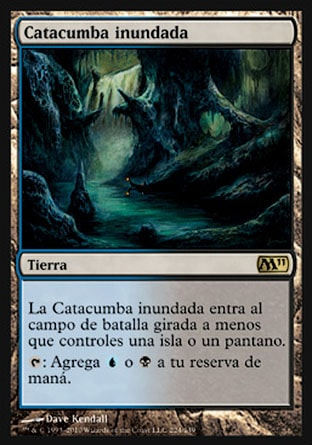 Catacumba inundada